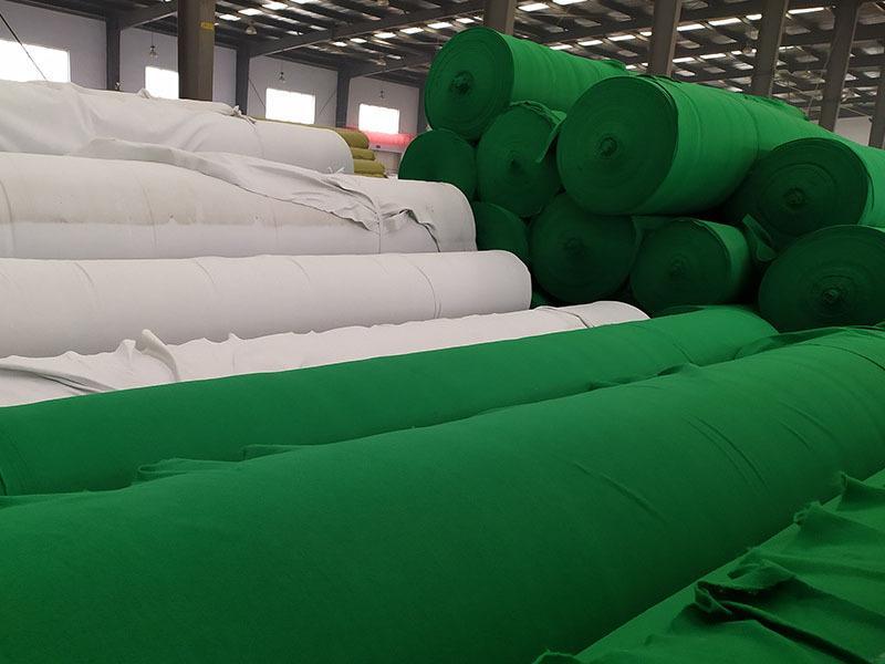 绿色土工布产品演示图1