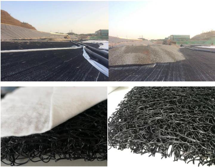 土工网垫 高强度渗排水席垫产品演示图1