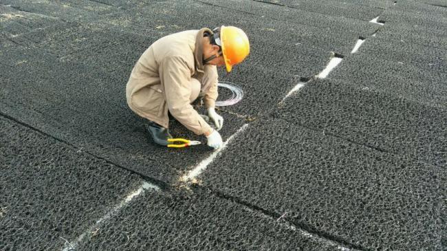 土工网垫 高强度渗排水席垫产品演示图2